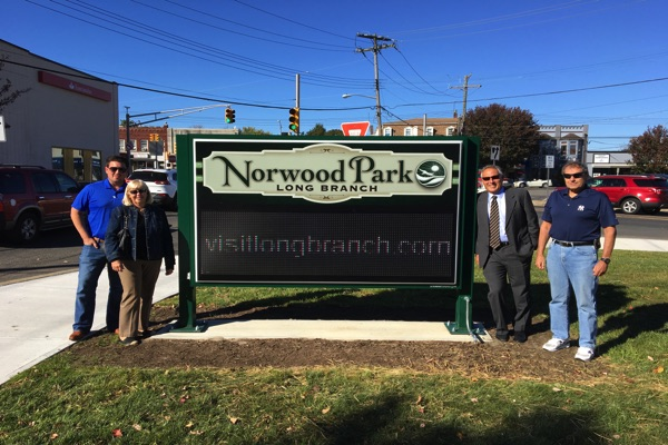 Long Branch's Newest Park Opens