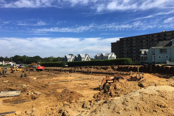 Work Underway For Three Long Branch Oceanfront Projects