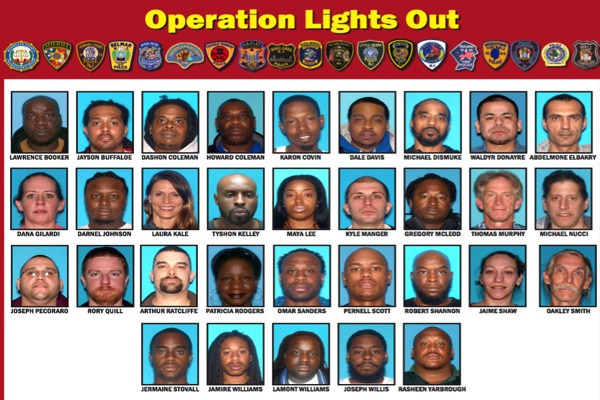 32 Members And Associates Of Long Branch-Based Gang Arrested