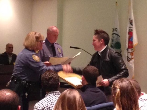 Long Branch Police Commended For 2015 Service