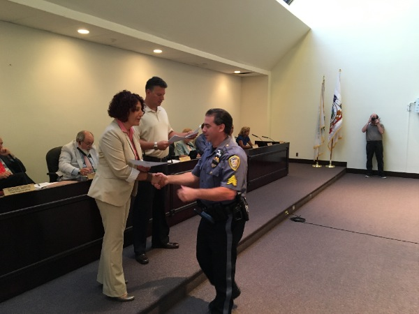 Long Branch Police Recognized For Going 'Above And Beyond'