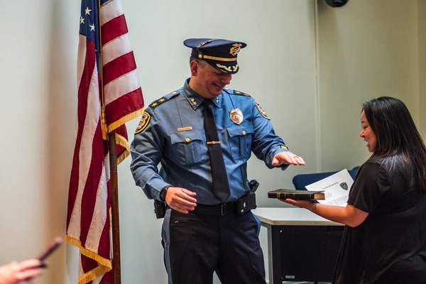 Long Branch Police Chief, New Officers To Be Sworn In Friday