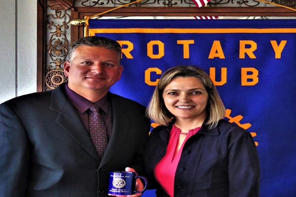 Long Branch Rotary Hears Chief Roebuck on Crime Control