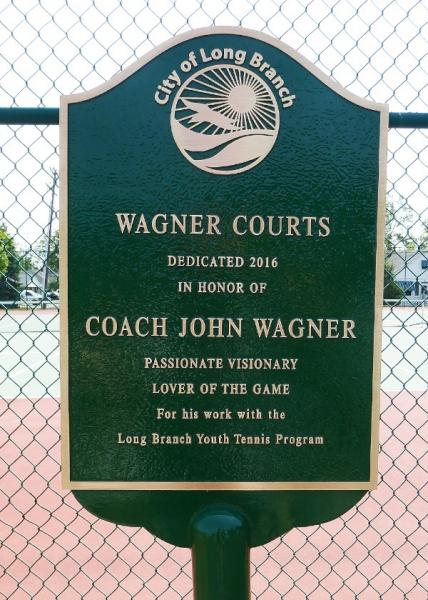 City Recreation Dept. Recognizes Former Tennis Coach John Wagner