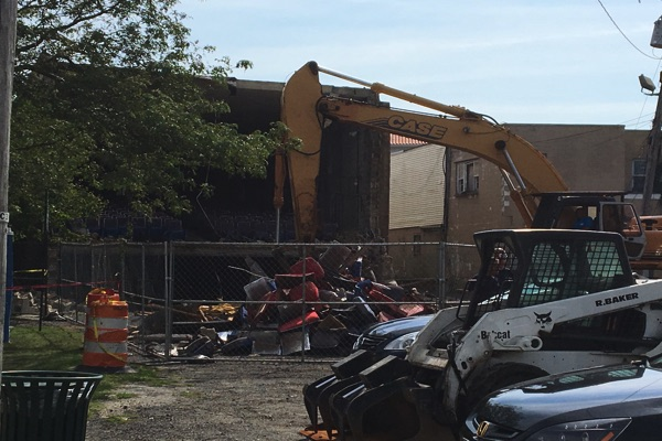 Demolition Of West End Movie Theater Begins