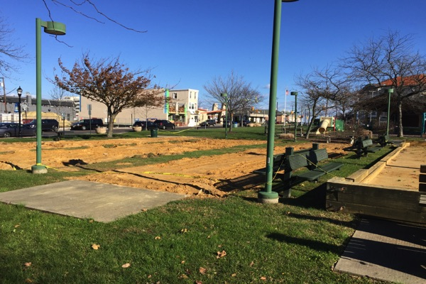 West End Park Improvements Underway
