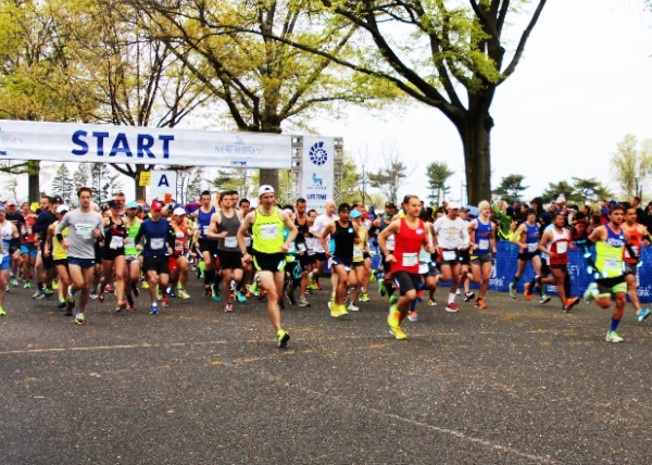 NJ Marathon 2016 Weathers the Weather