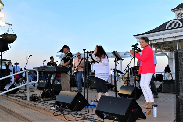 Tim McLoone and the Shirleys Open Summer Season at Pier Village