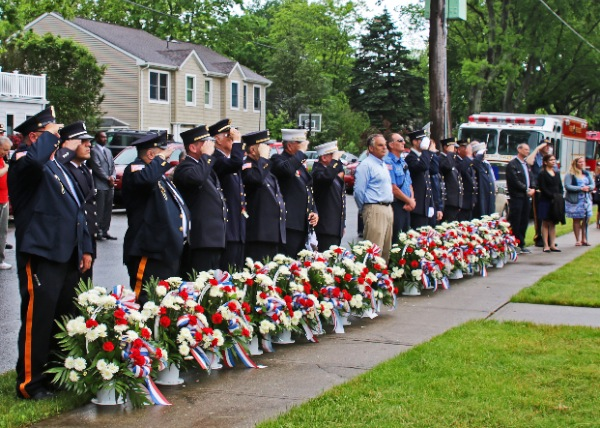 Memorial Day at Firemen's Monument