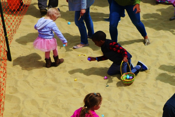 Easter Bunny and Egg Hunts at Pier Village