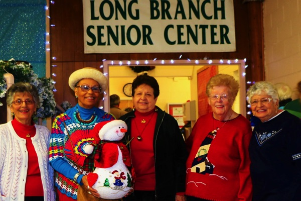 Senior Center Bazaar in Holiday Spirit