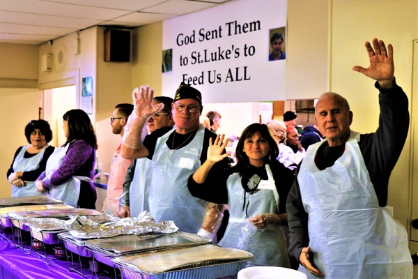 Thanksgiving at St Luke's, Joy in Giving