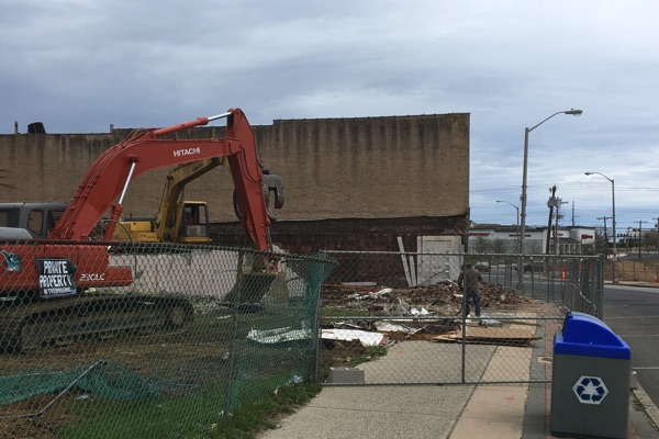 Another Broadway Building Goes Down In Long Branch