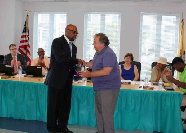 Long Branch Housing Authority Thanks Longtime Member