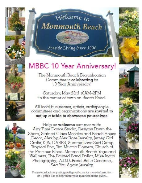 Monmouth Beach Downtown Market Scheduled For May 23
