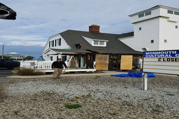 Progress Made In Repairs Of Monmouth Beach Cultural Center