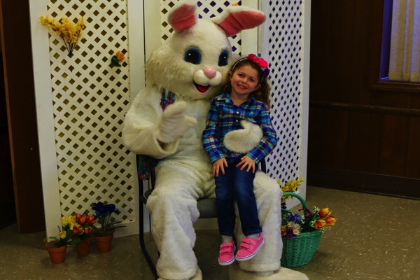 Easter Bunny Visits Oakhurst Fire Department