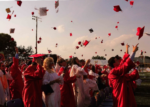 Ocean Township High School Seniors Graduate, Asked To Follow Their Dreams