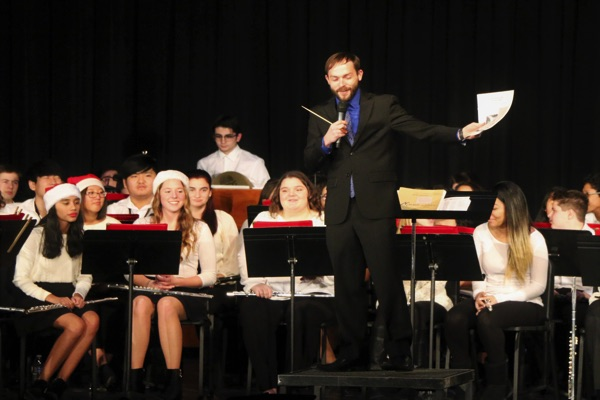 Ocean High School Holds Winter Band Concert