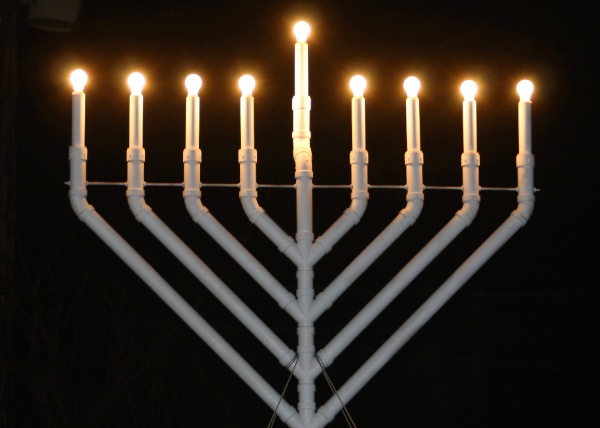 Hanukah Lights Bring Celebration and Hope