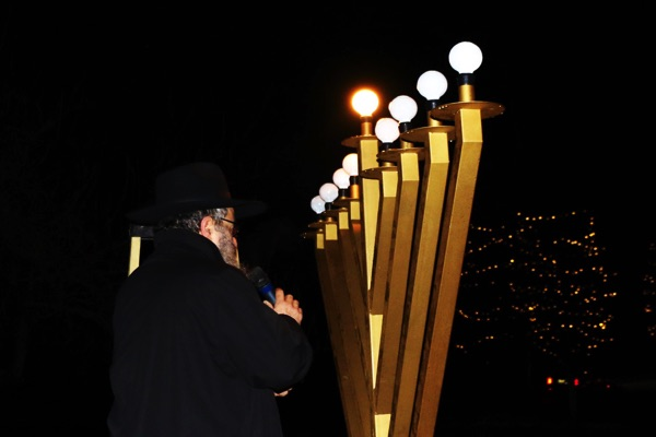 Hanukkah Menorah Lighting Celebrated In Ocean Township