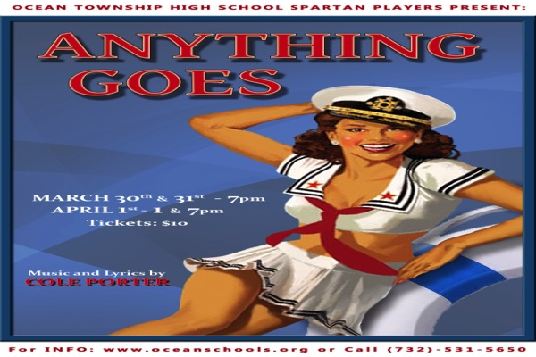 Anything Goes Is Spartan Players' Latest Performance