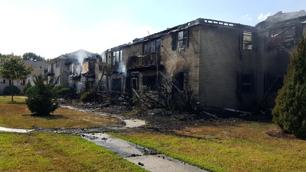 12 Apartments Destroyed By Ocean Township Fire