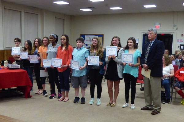 Ocean BOE Recognizes Student Achievements