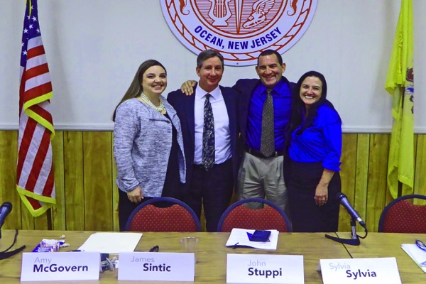 Ocean BOE Candidate Forum: 'VOTE' Was the Message