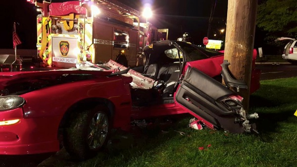 Driver Taken To Hospital Following Accident Near Asbury Circle