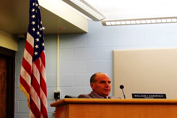 Ocean Township Deputy Mayor William Garofalo Retires