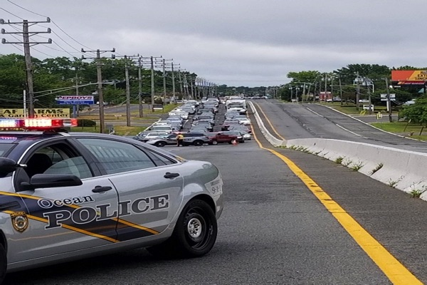 Multi Car Crash In Ocean Township Snarls Route 35 Traffic