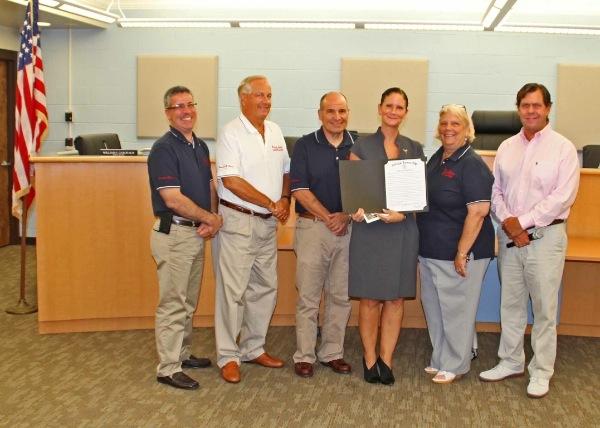 Council Honors Mya Lin Terry Cancer Foundation and Mya's Run for Gold Oct 4 at Palaia