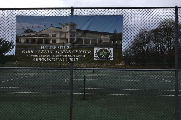Construction Of New Ocean Township Tennis Facility To Begin This Spring