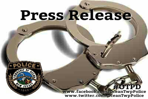 Ocean Township Police Blotter: Burglary, Prostitution Arrests