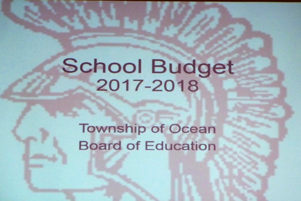 Ocean Board of Education Votes for Zero Increase in Budget