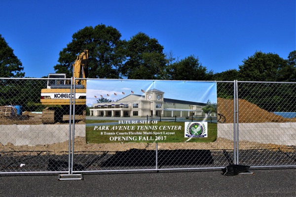 Ocean Township Tennis Center Construction On Schedule