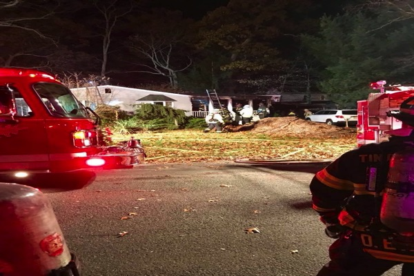Crews Douse Ocean Township House Fire
