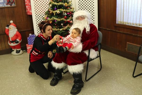 Santa Visits Oakhurst Fire Department