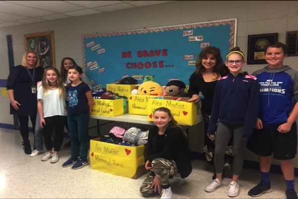 Oceanport School Students Make Big Contributions to Munoz, Rose Charities