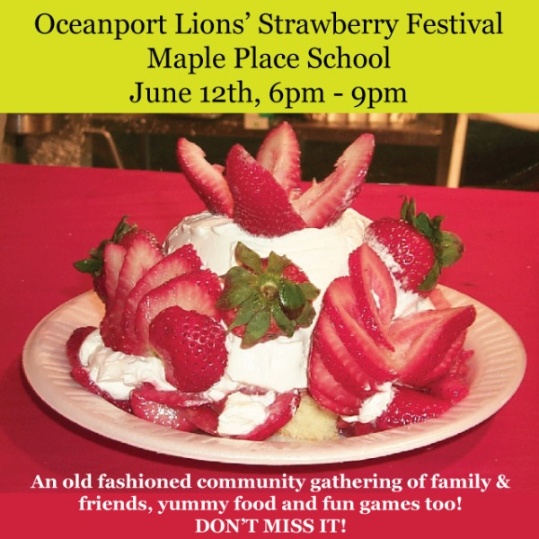 Oceanport Strawberry Festival Coming June 12