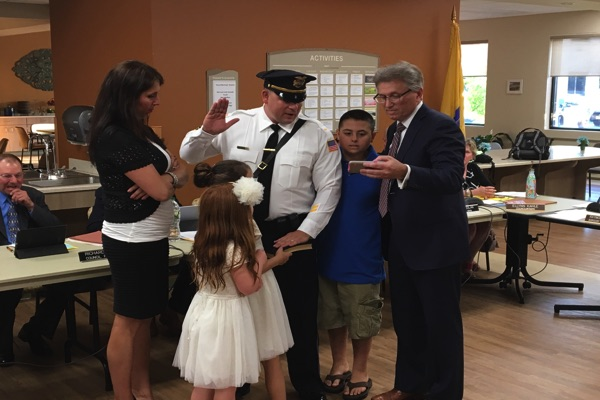 Two Oceanport Police Officers Promoted To New Positions