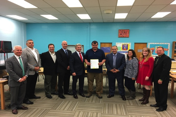Oceanport First Aid Squad Captain Thanked For Service