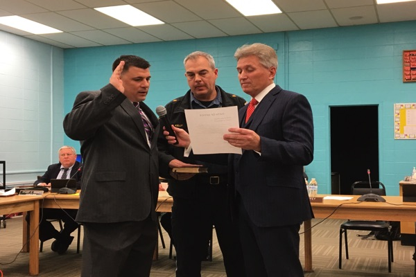 Oceanport Promotes New Police Lieutenant