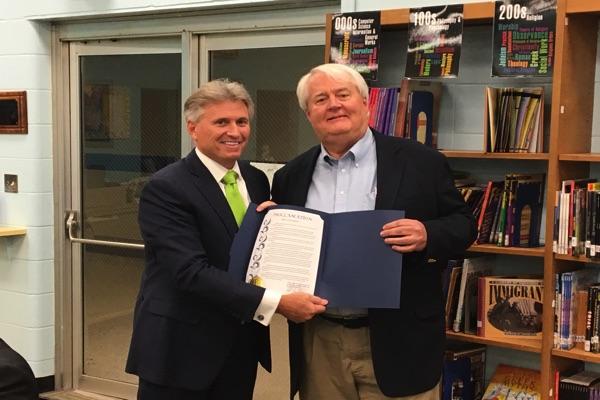 Oceanport Honors Longtime BOE Member