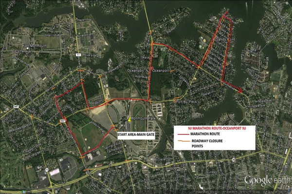 Oceanport Police Advise Residents On NJ Marathon Closures