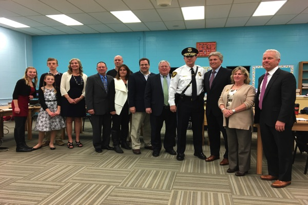 Oceanport Welcomes New Police Chief