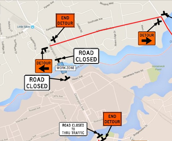 Oceanport Bridge To Close in January