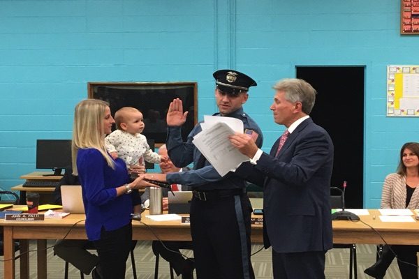 Oceanport Adds Two New Police Officers
