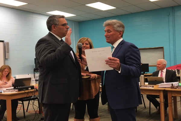 Proto Sworn In To Oceanport Council